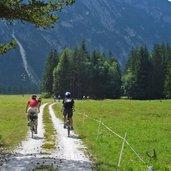 Mountainbike Radweg