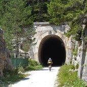Tunnel auf alter Bahnstrecke