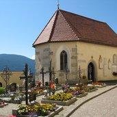 Friedhof Terenten Kirche