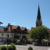 Hauptplatz Terenten Dorfplatz