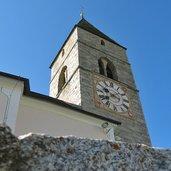 Kirchturm Meransen