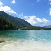 antholzer see strand lago di anterselva