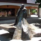 Gustav Mahler Statue Toblach