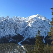 monte cristallo winter