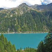 Neveser stausee Lappach lago di neves