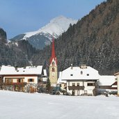 Pustertal Montal winter inverno mantana chiesa kirche