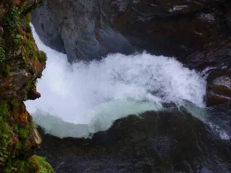 Kajak Wasserfall