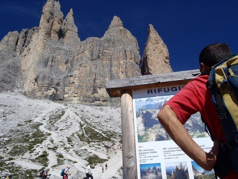 Cartina 3 Cime Di Lavaredo.Escursione Giro Delle Tre Cime Di Lavaredo Sesto Alta Pusteria Parco Naturale Tre Cime