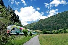 Karte -> Anreise Bahn