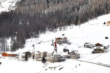 Rein in Taufers Winter Riva di Tures inverno