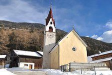 Kematen in Taufers Winter Caminata Tures inverno