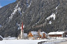 Antholz Niedertal Winter Anterselva di sotto inverno
