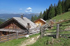 Wanderung zur Putzalm Escursione Malga Pozzo