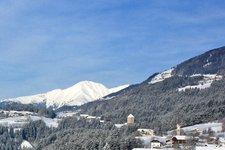 Pfalzen Mühlen Winter Molini Falzes inverno