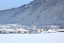 Bruneck St. Georgen Winter San Giorgio di Brunico inverno