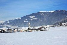 Bruneck Dietenheim Winter Brunico Teodone inverno