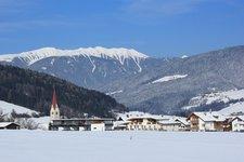 Niederolang Winter Valdaora di Sotto inverno