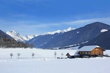 Rasen Antholzertal Winter Rasun Anterselva inverno