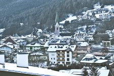 Mühlbach Dorf Winter