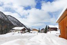 Prettau Kasern Winter Predoi Casere inverno