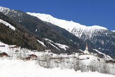 St. Jakob Ahrntal Winter San GIacomo Aurina inverno