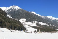 Ahrntal Winter Valle Aurina inverno