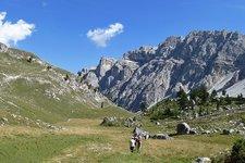 Wanderung von Campill nach Antersasc
