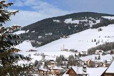 Enneberg Winter Marebbe inverno