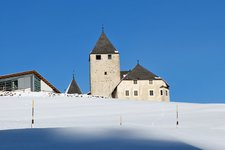 St Martin in Thurn winter san martino badia inverno