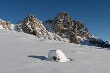 Winterwandern, Fanes Alm 2010