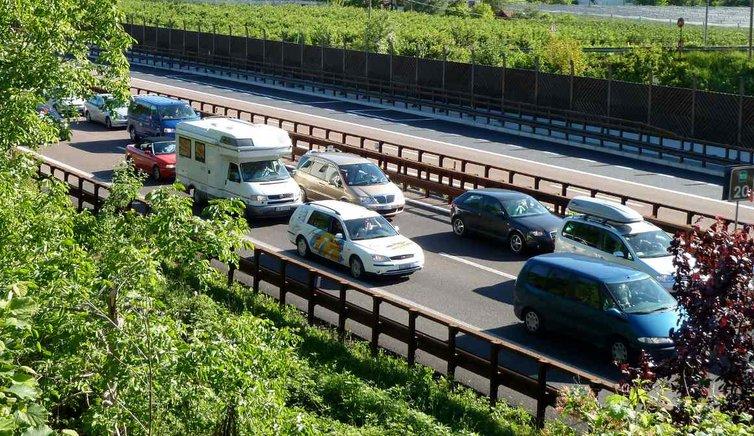 Infos für Autofahrer in Südtirol, Foto: AT, © Peer