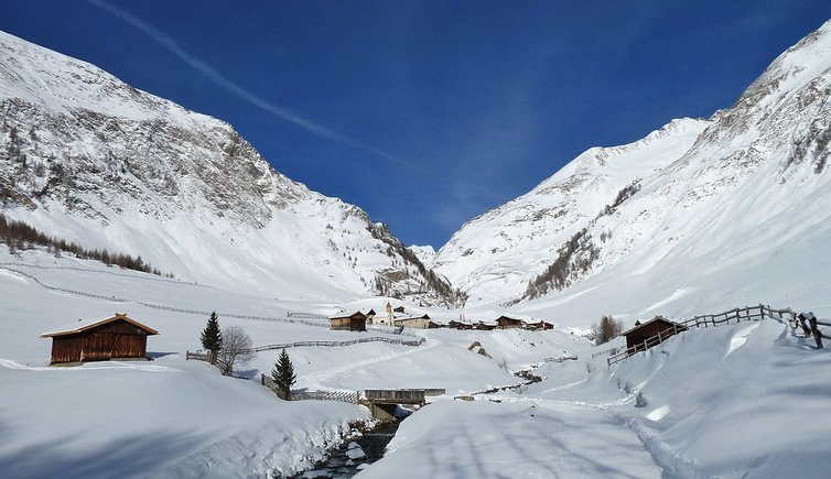 Escursione invernale da Valles alla malga Fane, Foto: AT, © Peer