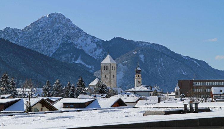 Innichen Dorf Winter