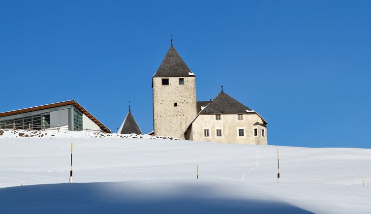 St. Martin in Thurn Winter San Martino Badia inverno