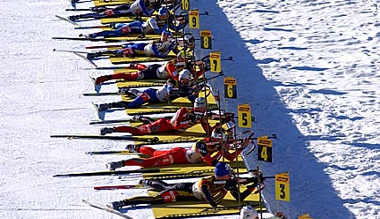 Biathlon ad Anterselva, © Fotoarchiv