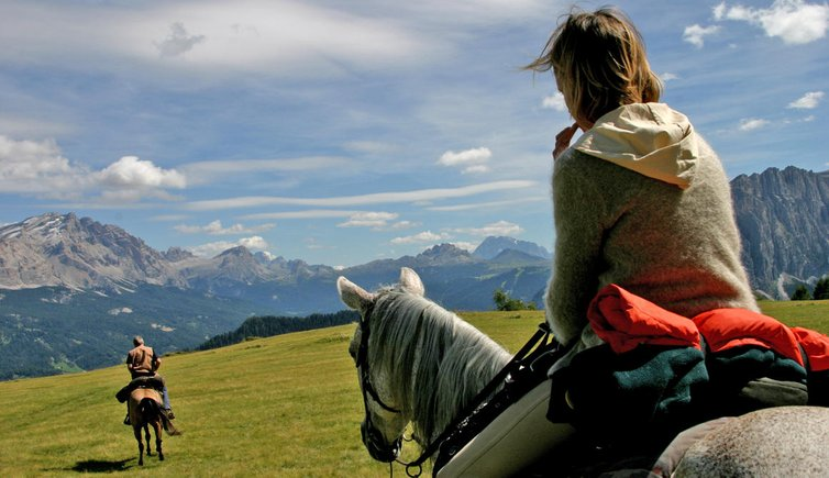 Horse riding, © TVB Alta Badia
