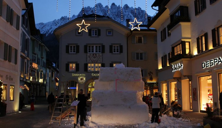 Festival sculture di neve a San Candido e San Vigilio, Foto: EMS, © Peer