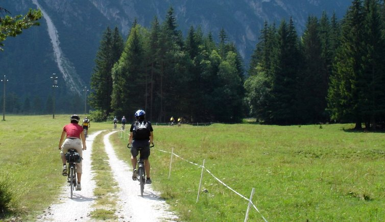 Mountain bike tour from Dobbiaco to Cortina d'Ampezzo, Foto: AT, © Peer