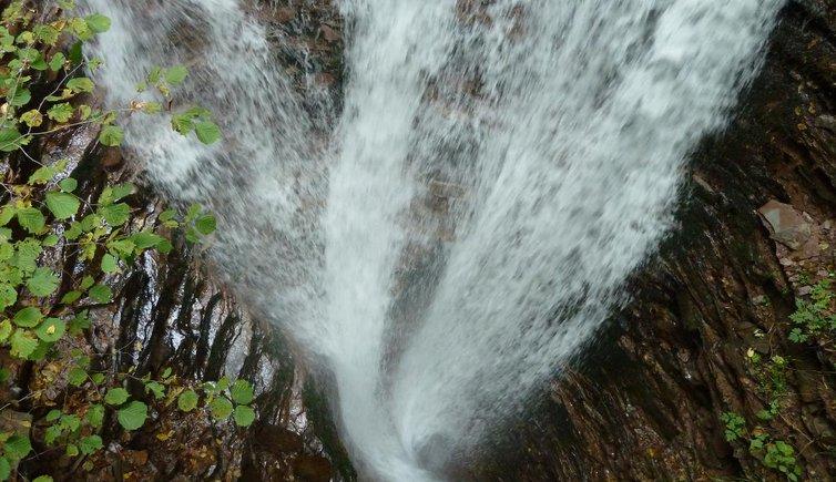 Die Reinbach-Wasserfälle, Foto: AT, © Peer
