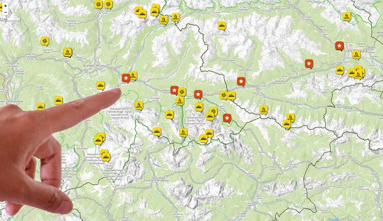 Valle Aurina Cartina Geografica.Come Arrivare Val Pusteria Alto Adige E Tirolo Orientale